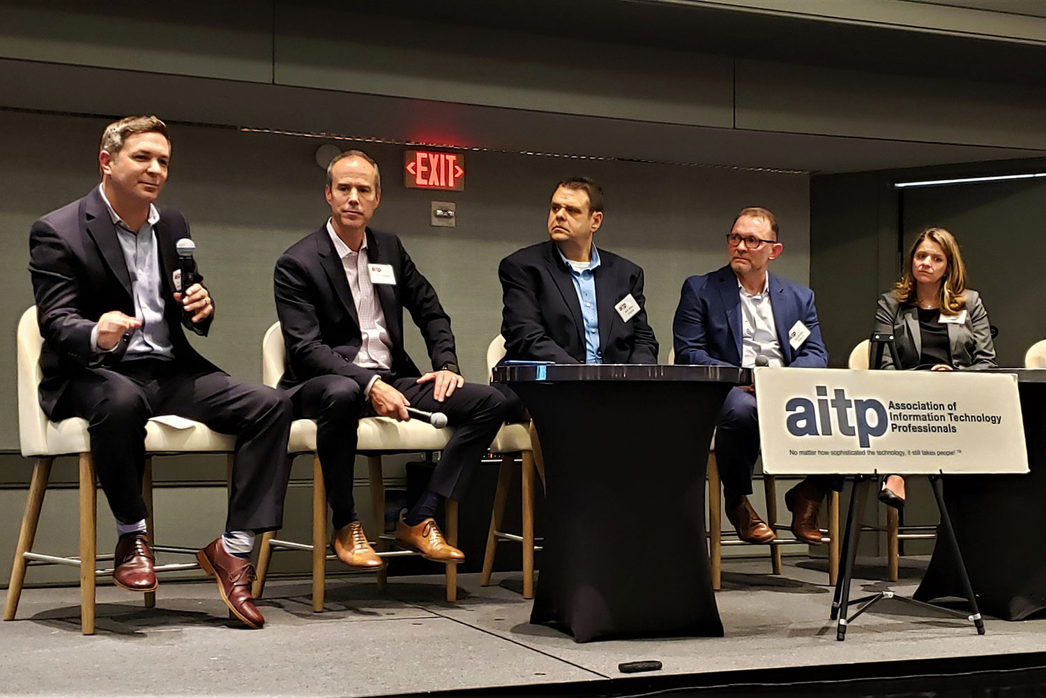CIO presenting at panel of AITP